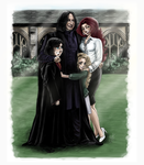 Emily+Severus-The Snapes by RedPassion