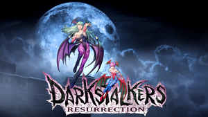 Morrigan an Lilith Darkstalkers Resurrection by deathjchaos