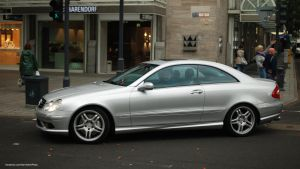 Mercedes-Benz CLK55 by ShadowPhotography