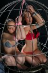 Two girls in a cage 2 by Infomediastudios