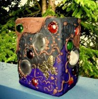 moondrop vase by HeatherHowellArt