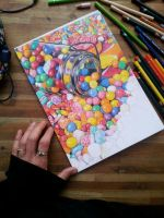 candy! wip by HannahLouCatherine