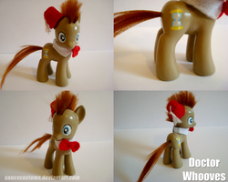Dr Whooves - Custom Pony by saucycustoms