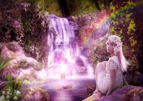 fairy waterfall by Chimonk