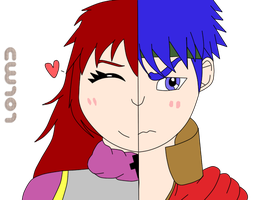 Point Comm: Kenna and Ike by Cherrywind101