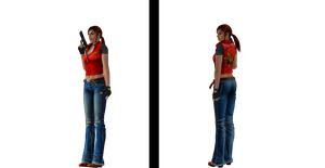 XnaLara Model: Claire Redfield CVX by SilverMoonCrystal
