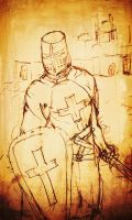 A Templar Knight Sketch by sudorlais