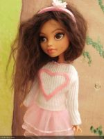 Monster high custom repaint mh lifelike commssion by Rach-Hells-Dollhaus
