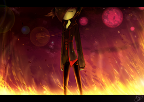 AT: .:Flaming Prince:. by Nedrian