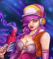 Arcade Miss Fortune by IronCollapse