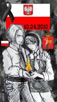 APH Poland Mourning by KarolaKH