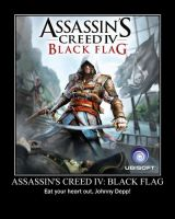 Assassin's Creed IV: Black Flag-(Poster) by XPvtCabooseX