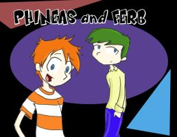 Phineas and Ferb by samy-chan34