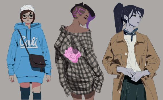 Overwatch fashion week 2 by samuelyounart