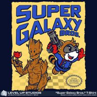 Super Galaxy Brothers by OhSadface