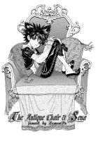 The Antique chair and Sena by LemonPo