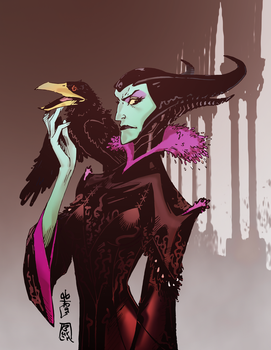 Maleficent Animated Colors by lroyburch