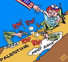 Divide and conquer by Latuff2