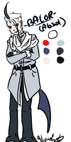 Balor the Absol Gijinka by Twin-Divinity