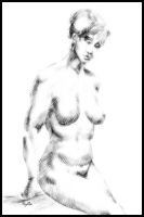 woman 07 by HyllaArt