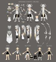 Elsword 2015 Costume Design Contest Entry by ArtNotHearts