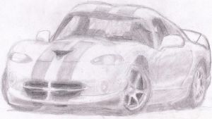 Dodge Viper GTS 02' by nothing111111