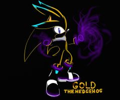 Gold the hedgehog Psychic night by silversonic2000