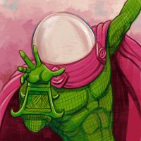 Daily Sketches Mysterio by fedde
