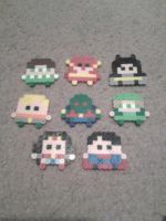 Perler Beads ::Justice League Mini's:: by munch1111