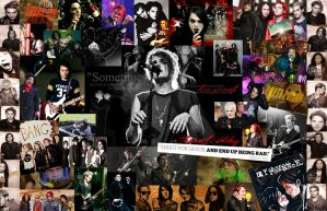 My Chemical Romance collage by shadowlovinfanbunny