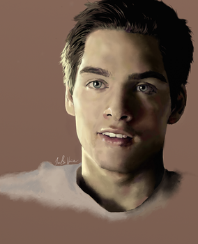 Comission for spookybibi: Dylan Sprayberry by JoelsVoice