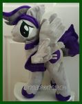mlp plushie commission Equality Brave completed by CINNAMON-STITCH