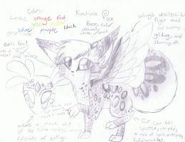 Kachina Fox Reference. by Etheral-Fox