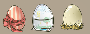 egg adoptables - SOLD by alpacasovereign