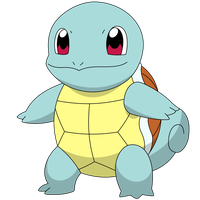 Squirtle with a default happy face by kol98