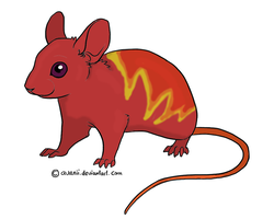 Fire mouse by Hope2Fly