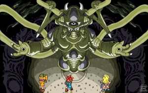 Chrono Trigger Lavos by Dragonfly929
