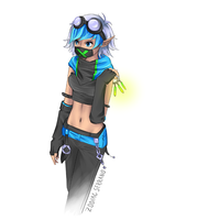 Neon Squid Gaia Avatar by Zodiac-Salad