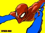spider-man by oldpantymachine