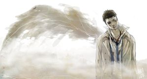 Castiel by spacerocketbunny