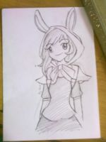 Fionna Sketch by Rainnye