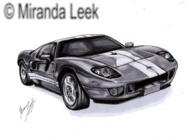 2003 Ford GT by railrunnermiranda