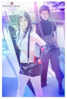 Tifa and Zack by Beibei-J