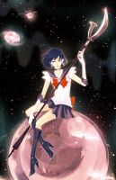 sailor saturn by MissIfa
