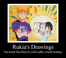 Rukia's Drawings 2 by Puffypaw
