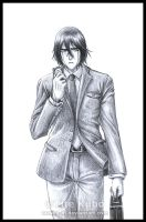 BLEACH - Businessman ULQUIORRA by Washu-M