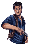Nathan Drake - Fan Art Friday #1 by Princess-Hazel
