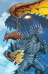 Godzilla Rulers of Earth issue 5 cover by KaijuSamurai
