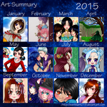 2 0 1 5 - Art Summary by everblue4219