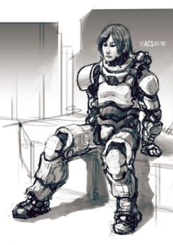 Seated Armor by Shimmering-Sword